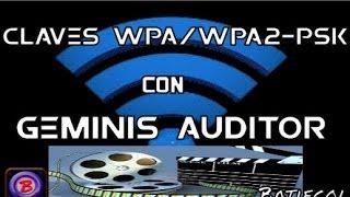 Descifrar wpa / wpa2 - psk   con Geminis Auditor