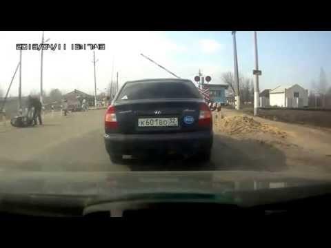 Rosyjski kaskader na motorze