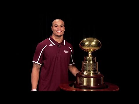 football - Bulldog QB Dak Prescott announces the 2013 bowl destination for Mississippi State football. #HailState.