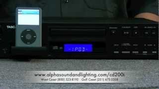 ALPHA Sound & Lighting Co. - Tascam CD-200i