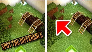 Minecraft: Can You Spot the Difference? by CaptainSparklez