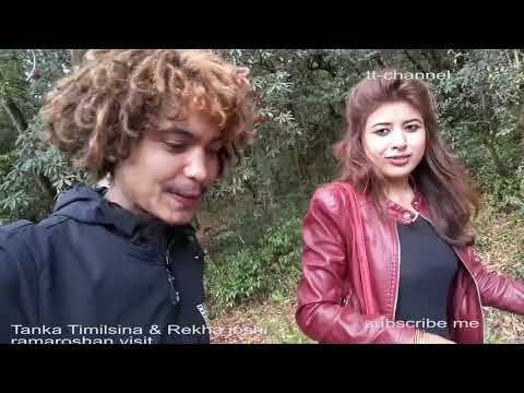 (Tanka Timilsina & Rekha Joshi Sudur Paschim Ramaroshan Visit 2018 - Duration: 14 minutes.)