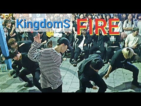 《BTS_#Fire》20190511#KingdomS(킹덤즈) 홍대버스킹 20190511_215349 #SnowHorse