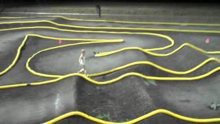 Silver Dollar RC Raceway 1/8 Scale Buggy Night Racing