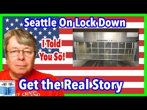 Seattle Sanctuary City ANTIFA Gangs Thefts Crime 24/7 Forces 24/7 Lock Down