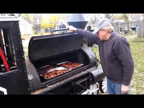 Meet Steve Retired Iron Worker From Illinois Who Built a Barbecue Steam Smoker Train in His