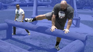 Download Video NAVY SEAL OBSTACLE COURSE CHALLENGE Pt.2 | NAVY SEAL VS 4X WORLD'S STRONGEST MAN MP3 3GP MP4