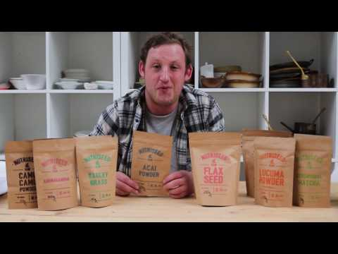 Acai Berry Powder, Organic, Nutriseed (50g)