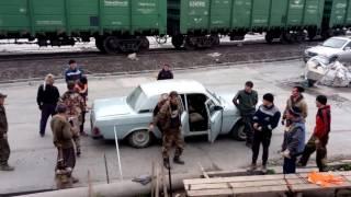 Башкирская бригада едет на работу Bashkir team goes to work