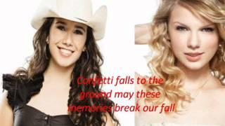 [COM LETRA] Taylor Swift, Paula Fernandes Long Live