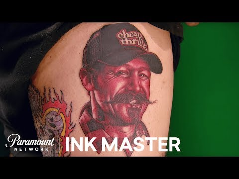 Monochromatic Portraits - Elimination Tattoo | Ink Master: Return Of The Masters (Season 10)