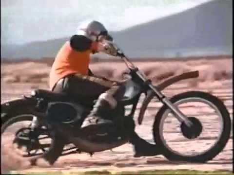 Steve Mc Queen riding a Honda CR250M Elsinore