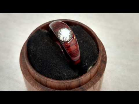 Making a Rosewood Engagement Ring