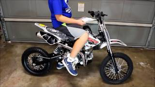 2. OVERVIEW OF AUTOMATIC SSR 125CC PITBIKE DIRT BIKE