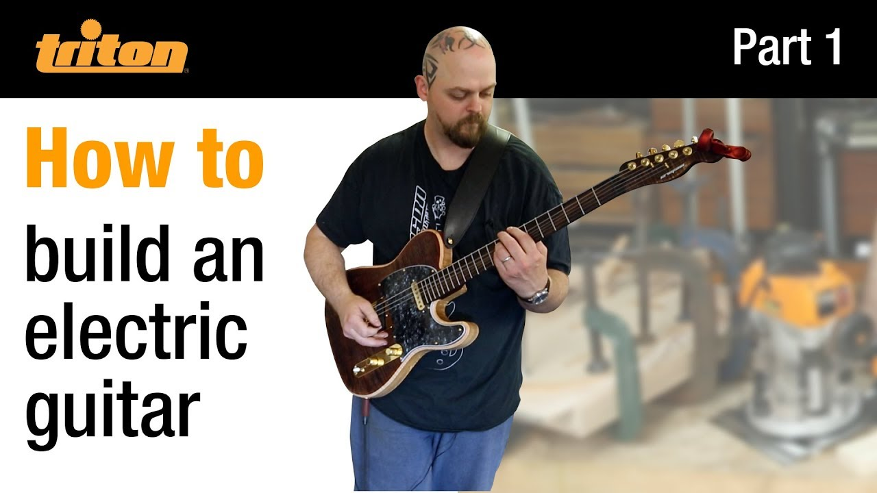 Part 1 – Build an electric guitar with Crimson Guitars