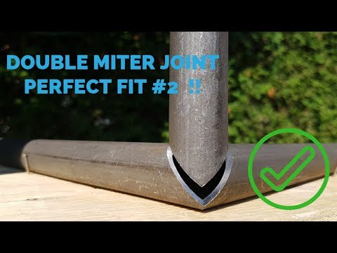 Double Miter Corner Joint #2 Round Tube [ How To ]
