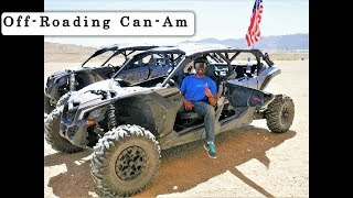 8. Driving A Can-Am Maverick X3 Max On A Off-Road Racing Course