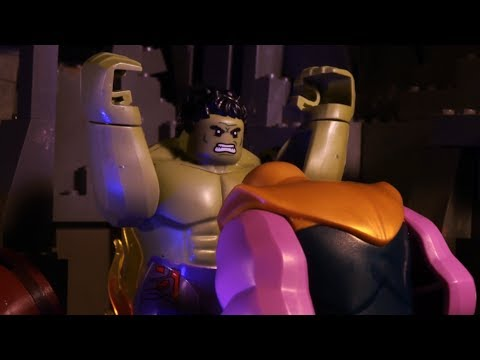 LEGO Avengers Infinity War - Hulk Vs Thanos Stop-motion