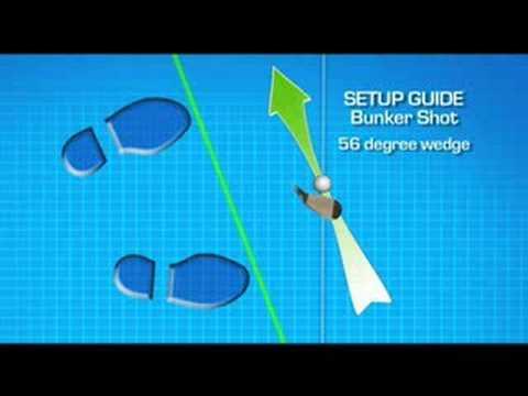 Golf Instruction . Fred Funk Bunker Shot