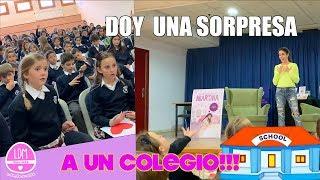 VOY A UN COLEGIO Y SORPRENDO A LOS NIÑOS!!! LA DIVERSION DE MARTINA