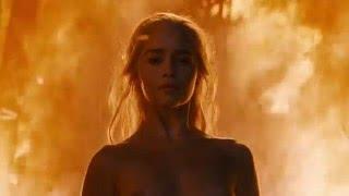 Game of Thrones Season 6 Episode 4: Daenerys' nude scenes compilation.