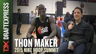 Thon Maker - 2015 Hoop Summit - DraftExpress Interview
