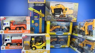 Video Trucks Toys for kids | Excavator, truck, crane,forklift ,bulldozer, road roller  Video  for children MP3, 3GP, MP4, WEBM, AVI, FLV Februari 2019