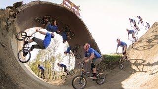 Full BMX Loop The Loop Made Of Dirt