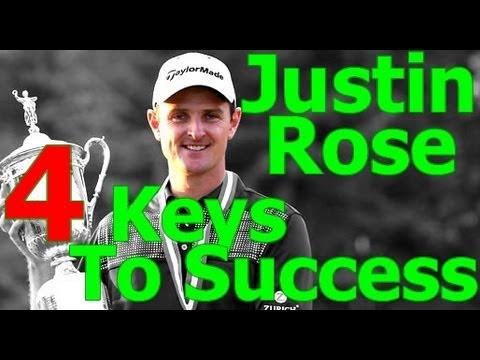 Justin Rose: Justin Rose 4 Keys to Great Golf Swing (Golf's #1 Lag Instructor)