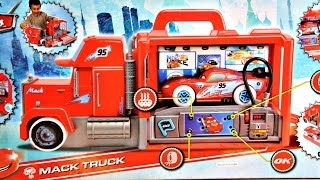 Žaibo Makvyno vilkikas ir mašinėlė | Serviso mašina | Smoby