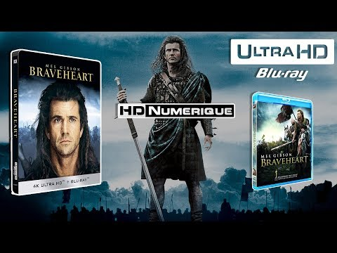 🗡️ Braveheart (MASTER 4K) : Comparatif 4K Ultra HD Vs Blu-ray