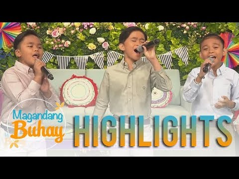"Magandang Buhay: TNT Boys kick off the show with their rendition of ""Forever's Not Enough"""