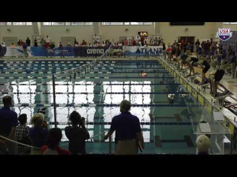 Women's 100m Fly A Final   2017 arena Pro Swim Series at Atlanta