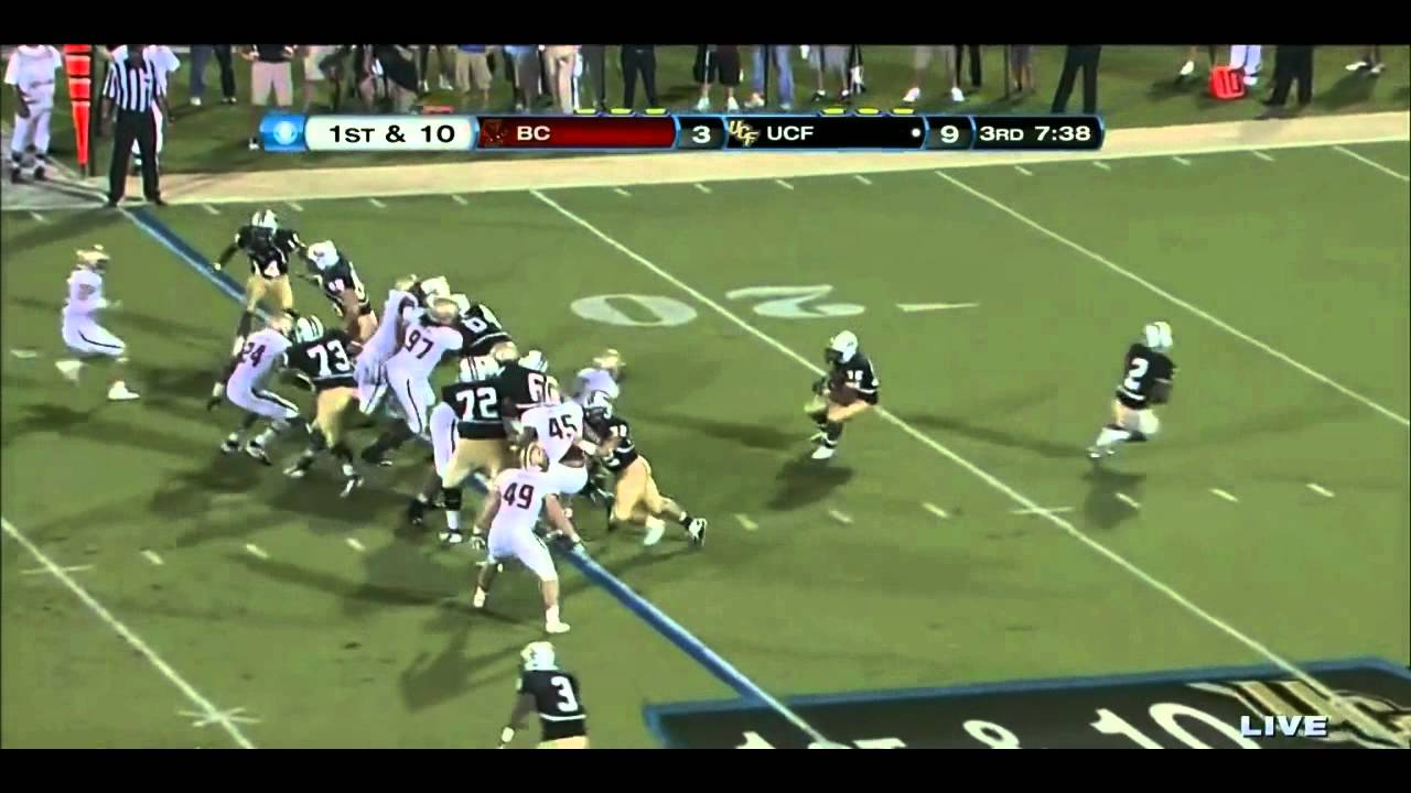Luke Kuechly vs UCF 2011