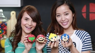 Super Smash Bros. Cupcakes!