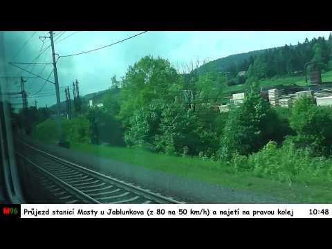 Jízda vlakem SC 241 a SC 240 PENDOLINO - 20.5.2015
