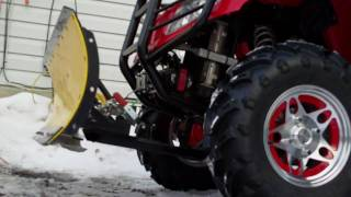 7. arctic cat 550h1 plow hook up