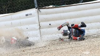 Video MOTOGP 2016 Czech GP (Brno) All Crashes Compilation #11 MP3, 3GP, MP4, WEBM, AVI, FLV September 2018