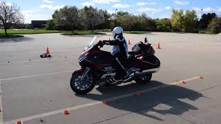 4. Honda Goldwing DCT Slow-Speed Precision Maneuvers