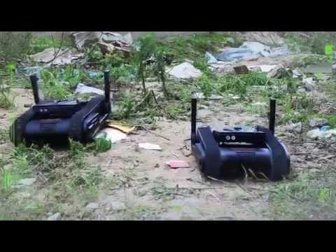 Dogo, robot portátil capaz de disparar