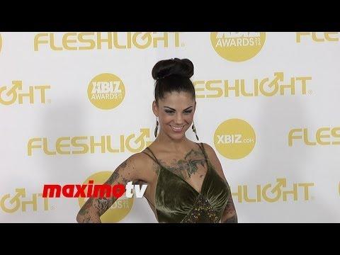 Bonnie Rotten ► 2014 XBIZ Awards Red Carpet Arrivals (видео)