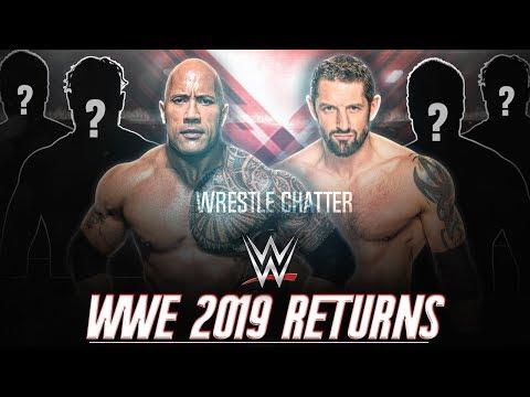 4 RETURNS WWE Already REVEALED For 2019 ! WWE Returns in 2019 ! !