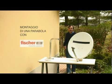fischer Ready to Fix - Kit di fissaggio per installare parabole e ringhiere