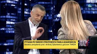 Olejnik: Zginął świetny prezydent.  Prof.Zybertowicz: Mam wątpliwości czy świetny.