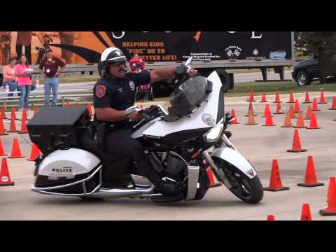 Annual Roanoke (TX) Police Motorcycle Rodeo '14 - #2