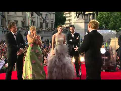 The final live premiere of Harry Potter and the Deathly Hallows Part 2 in London