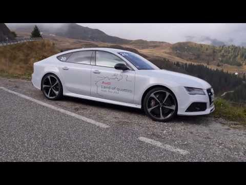Audi RS7 quattro test review in the Alps – Autogefühl Autoblog