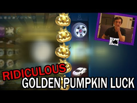 INSANELY LUCKY PULLS In Just 5 Golden Pumpkins - Can You Believe It?!