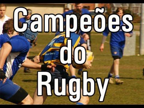 Alunos da base do Centauros Rugby representaram o Estado no Campeonato Nacional de Seleções