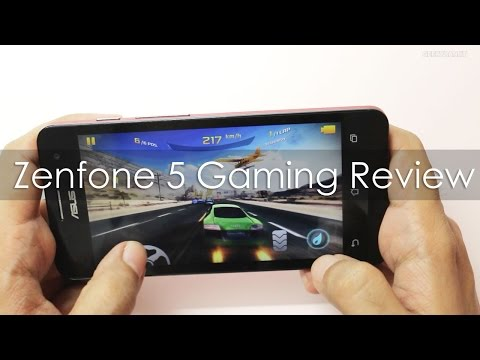 Asus Zenfone 5 Gaming Review with HD Games